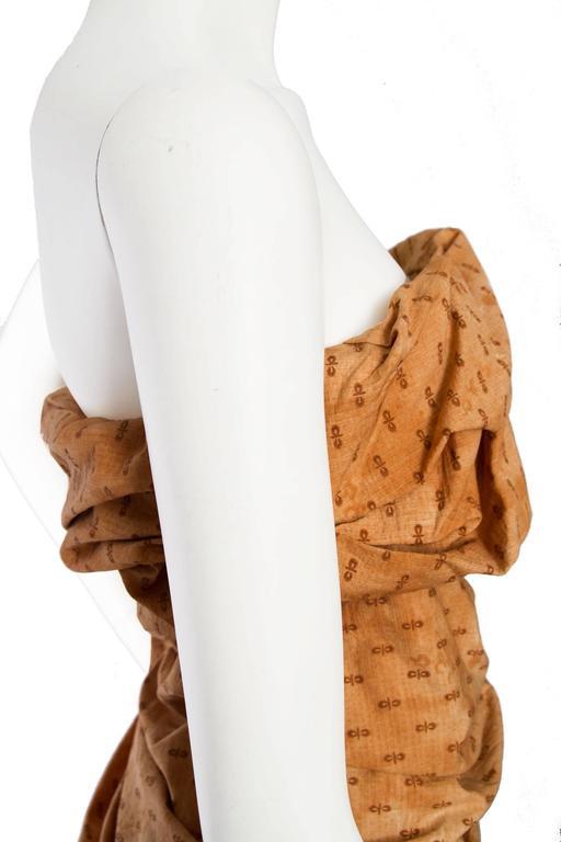 Bottega Veneta Hand Dyed Cotton Dess For Sale 2