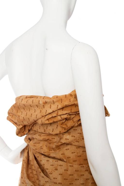 Bottega Veneta Hand Dyed Cotton Dess For Sale 4