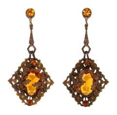 1920-1929 Dangle Earrings