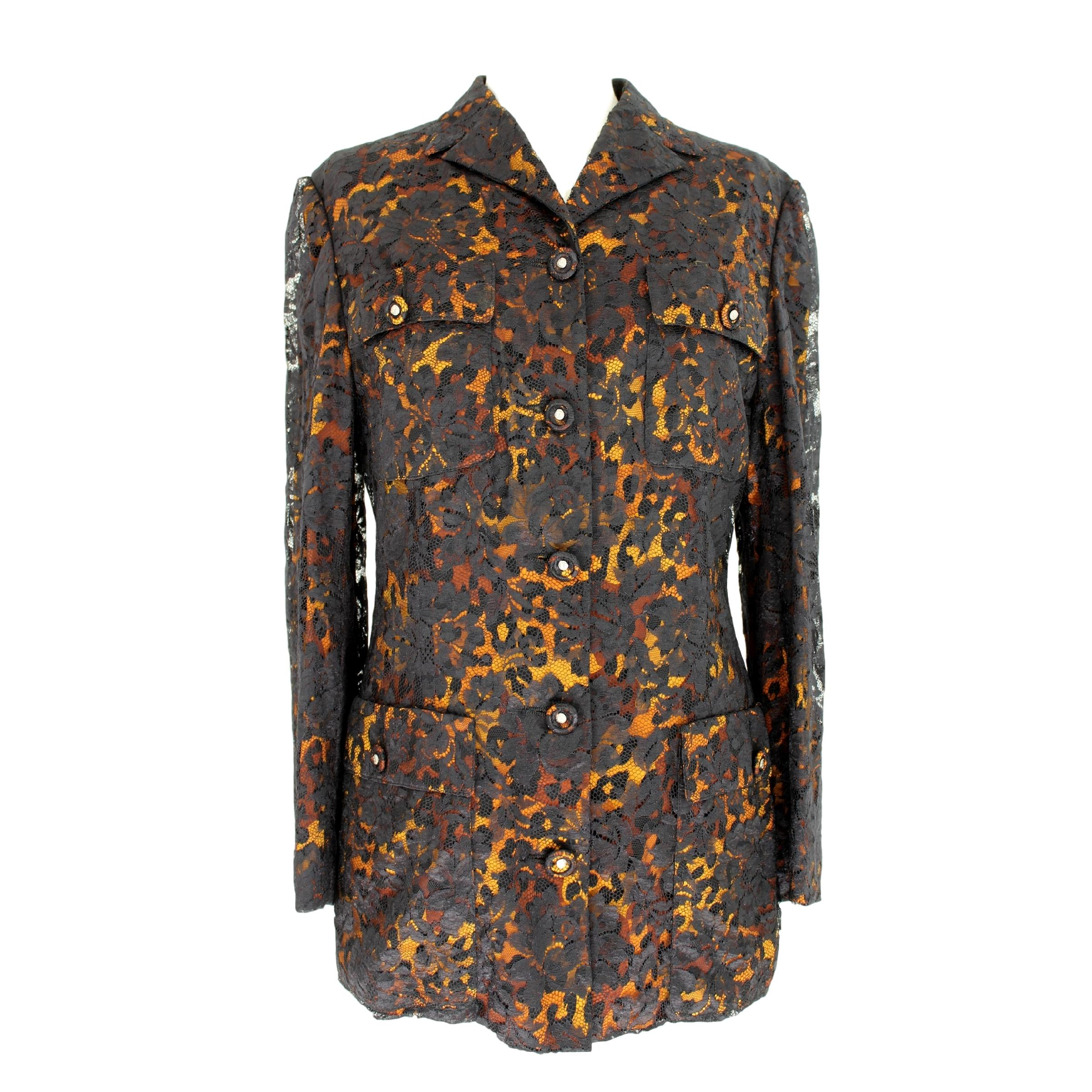 8676a0786fc732 Vintage Gianni Versace Jackets - 122 For Sale at 1stdibs