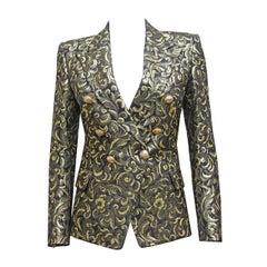Balmain jacquard lame evening blazer, c. 2010