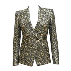 Balmain jacquard lame evening blazer, c. 2010