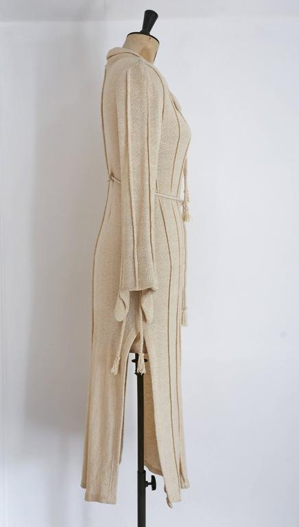 Alexander Campbell knitted caftan, c. 1990s 3