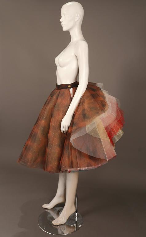 """Vivienne Westwood 'EXPLOSION"""" tulle skirt, c. 1993 In Excellent Condition For Sale In London, GB"""