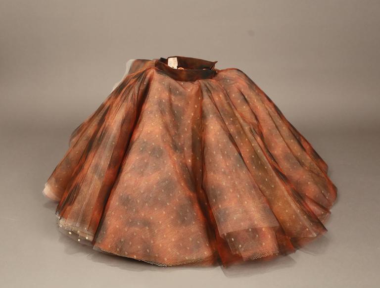 "Vivienne Westwood 'EXPLOSION"" tulle skirt, c. 1993 For Sale 2"
