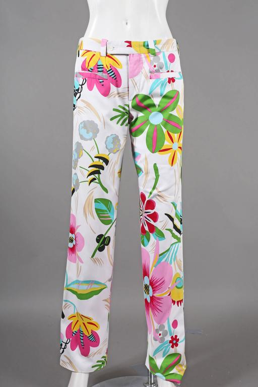 Women's Tom Ford for Gucci summer pant suit, C. 1999 For Sale