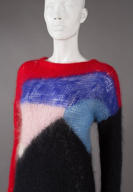 Malcolm McLaren and Vivienne Westwood SEDITIONARIES Mohair Sweater, C. 1976 2