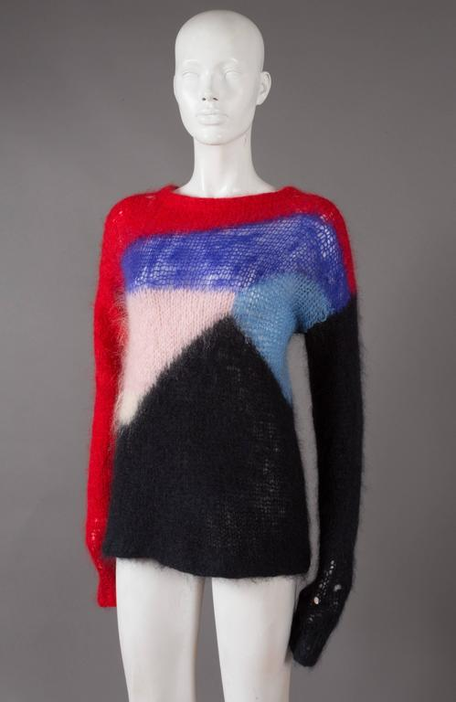 Malcolm McLaren and Vivienne Westwood SEDITIONARIES Mohair Sweater, C. 1976 3