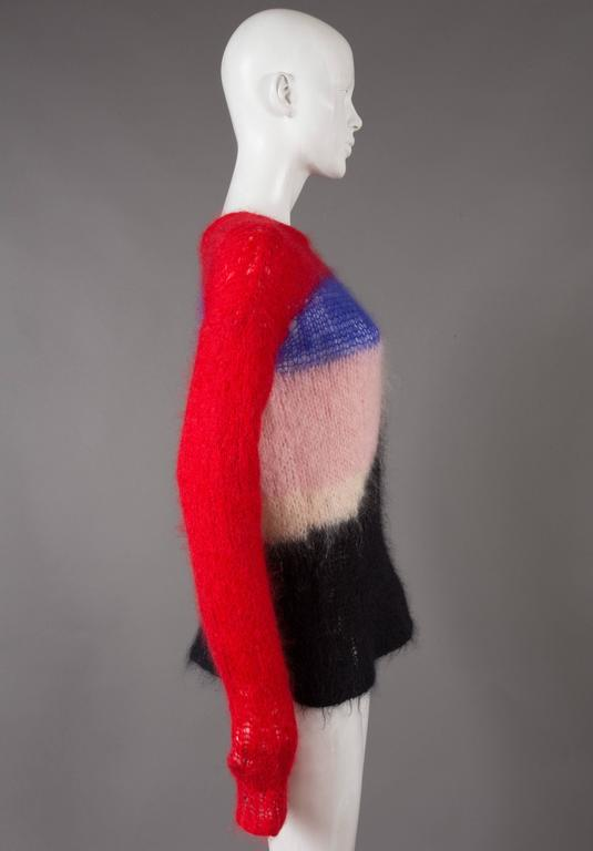 Malcolm McLaren and Vivienne Westwood SEDITIONARIES Mohair Sweater, C. 1976 4