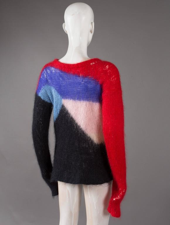 Malcolm McLaren and Vivienne Westwood SEDITIONARIES Mohair Sweater, C. 1976 5