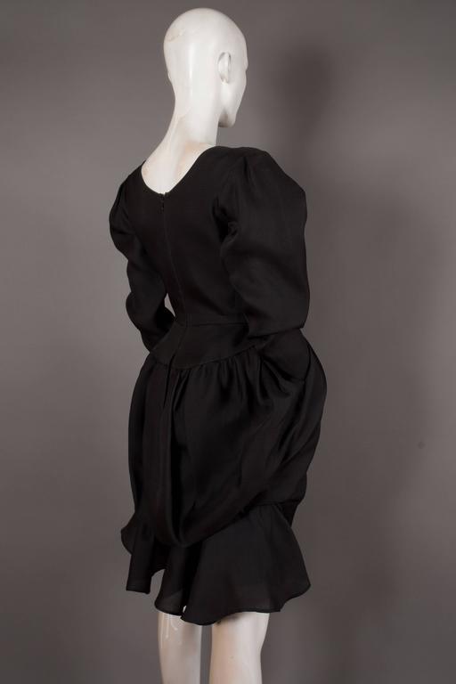 Yves Saint Laurent silk organza tulip dress, Circa 1993 For Sale 1