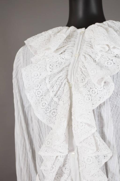 Mexicana white pintucked cotton and lace ensemble, circa 1960 9