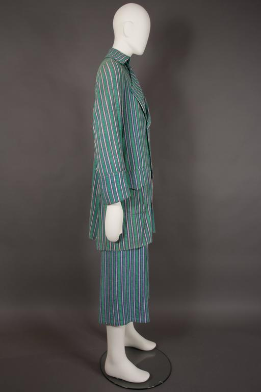 Worlds End mens pantsuit, pirate collection, circa 1981 In Excellent Condition For Sale In London, GB