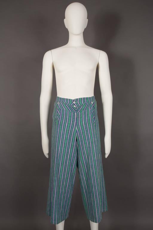 Worlds End mens pantsuit, pirate collection, circa 1981 For Sale 2