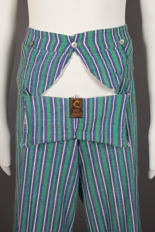 Worlds End mens pantsuit, pirate collection, circa 1981 For Sale 4