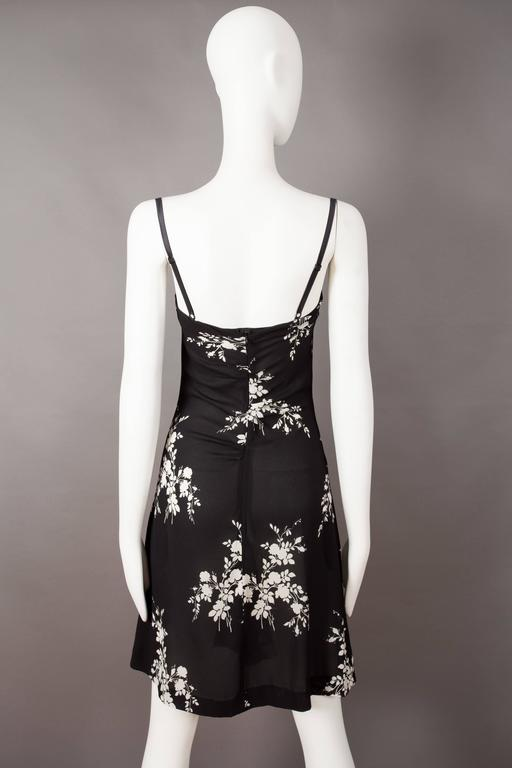 Dolce & Gabbana silk slip dress with internal bra, circa 1997 For Sale 1