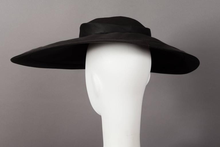 Christian Dior  New Look  silk organza saucer hat 255b28fa2ed