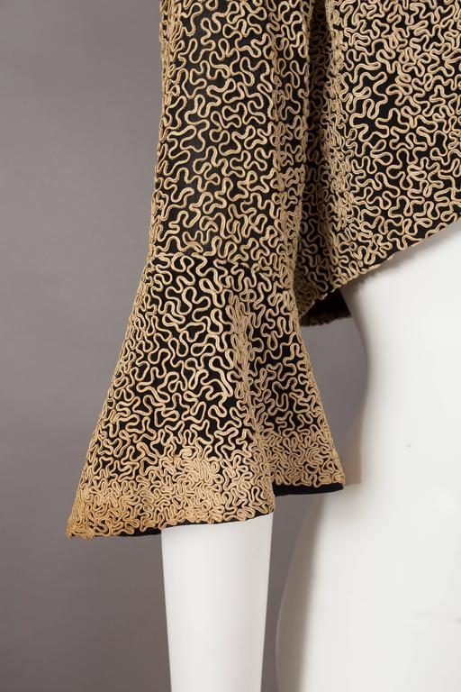 Ribbon embroidered bolero evening jacket, circa 1930s 7