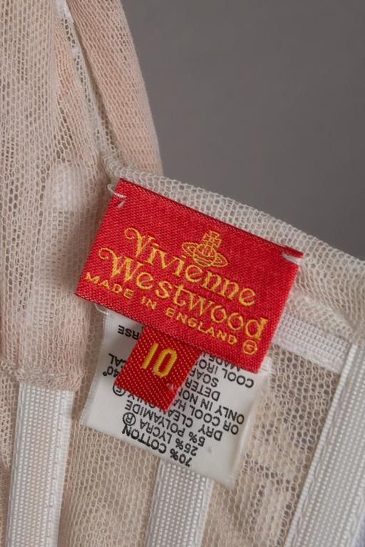 Vivienne Westwood ivory corset, 'portrait collection', circa 1990 For Sale 2