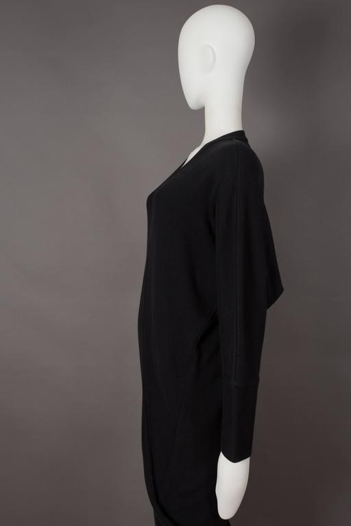 Issey Miyake ribbed knit sweater dress, circa 1980s 4