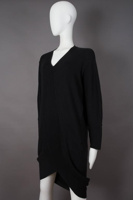 Issey Miyake ribbed knit sweater dress, circa 1980s 3
