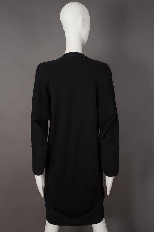 Issey Miyake ribbed knit sweater dress, circa 1980s 6