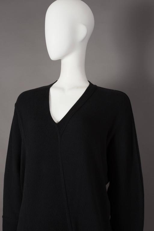 Issey Miyake ribbed knit sweater dress, circa 1980s 5