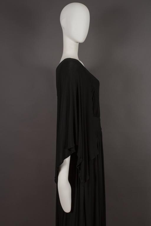Quorum by Ossie Clark pleated jersey evening gown, circa 1965-68 For Sale 2