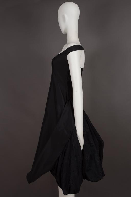 Alexander McQueen black cocktail dress with bustle, circa 2002 7