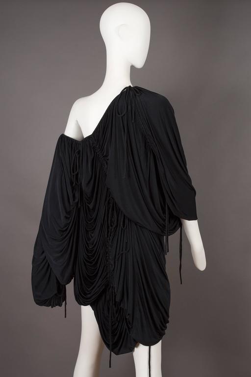 Women's Dolce & Gabbana drawstring jersey mini dress, circa 2003 For Sale