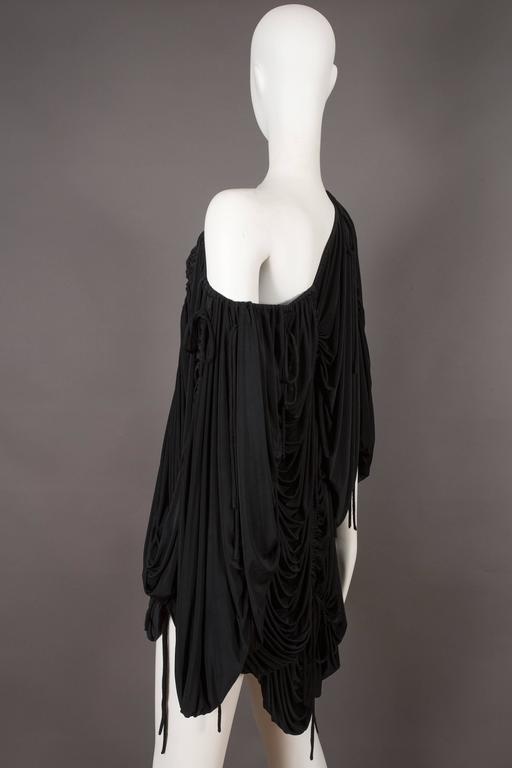 Dolce & Gabbana drawstring jersey mini dress, circa 2003 For Sale 1