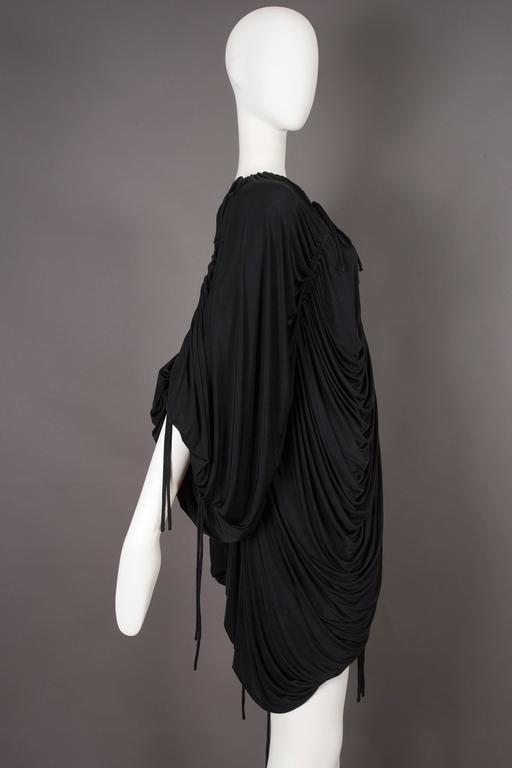 Dolce & Gabbana drawstring jersey mini dress, circa 2003 For Sale 2