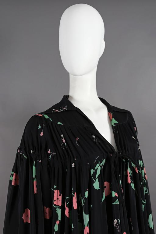 Ossie Clark 'Busy Lizzie' Angel Dress With Celia Birtwell print, circa 1972 5