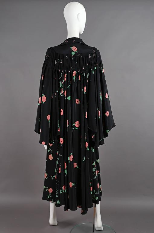 Ossie Clark 'Busy Lizzie' Angel Dress With Celia Birtwell print, circa 1972 8