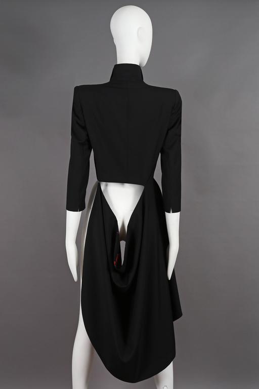 Women's Alexander McQueen 'The Dance of the Twisted Bull' Matador Jacket, circa 2002 For Sale