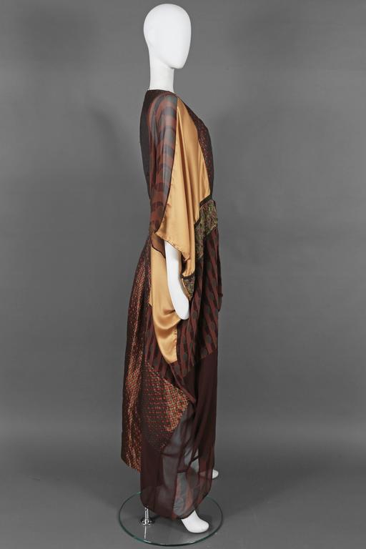 Thea Porter Couture brocade evening caftan, circa 1970s 5