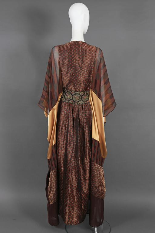Thea Porter Couture brocade evening caftan, circa 1970s 6