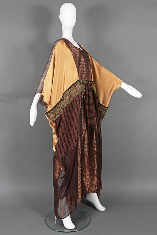 Thea Porter Couture brocade evening caftan, circa 1970s 3