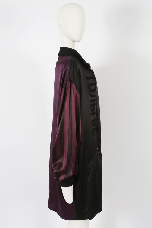 Women's or Men's Jean Paul Gaultier unisex 'Russian Constructivist' oversized jacket, circa 1986 For Sale
