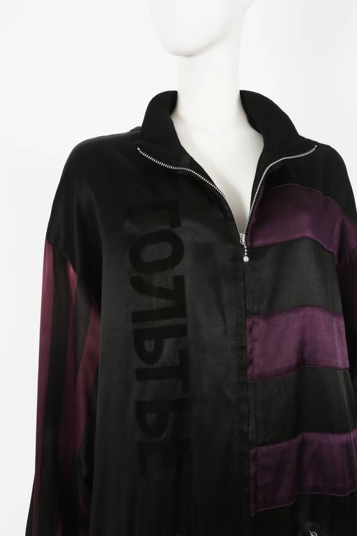 Jean Paul Gaultier unisex 'Russian Constructivist' oversized jacket, circa 1986 For Sale 2