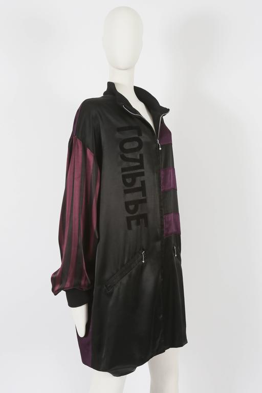 Jean Paul Gaultier unisex 'Russian Constructivist' oversized jacket, circa 1986 In Excellent Condition For Sale In London, GB