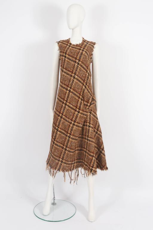 Junya Watanabe Comme des Garcons tweed dress, circa 2003 3
