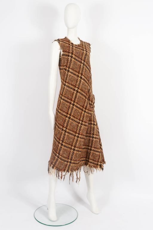 Junya Watanabe Comme des Garcons tweed dress, circa 2003 4