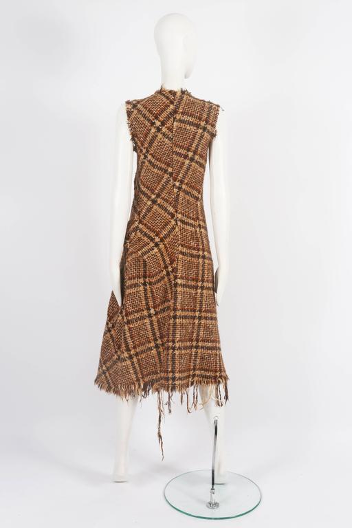 Junya Watanabe Comme des Garcons tweed dress, circa 2003 8