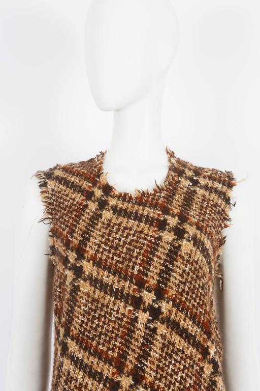 Junya Watanabe Comme des Garcons tweed dress, circa 2003 5