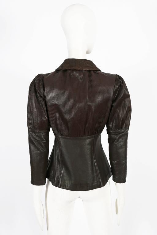 Ossie Clark 'Rocker' leather jacket, circa 1966 5