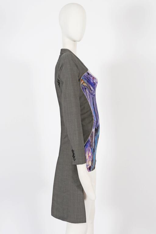 Women's Alexander McQueen, Plato's Atlantis mini dress, Spring/Summer 2010 For Sale