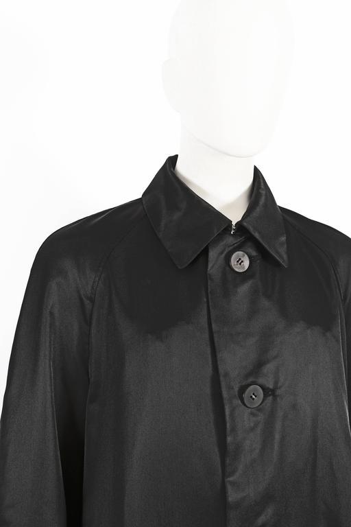 Issey Miyake Mens oversized windcoat, circa 1990s For Sale 3