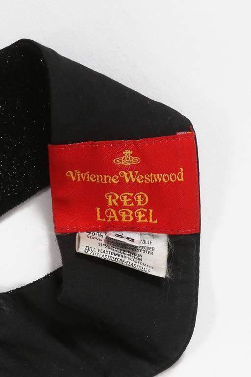 Vivienne Westwood lurex evening corset, circa 1990s 6