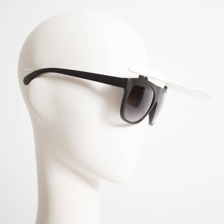 Chanel Visor Sunglasses, circa 2014 For Sale 1